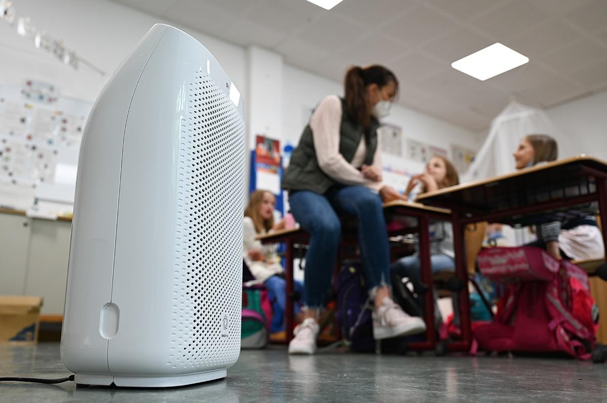 Luftfilter Schulen Wien
